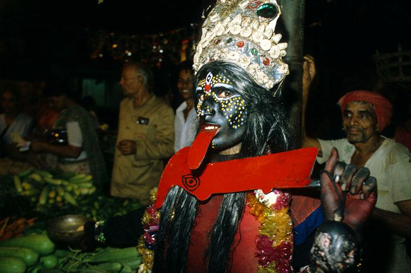 Bettler Göttin Kali